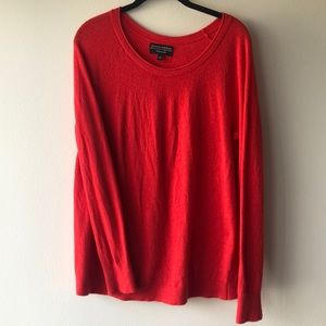 Banana Republic red spring sweater sz L